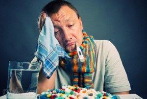 Депрессия может быть обусловлена насморком