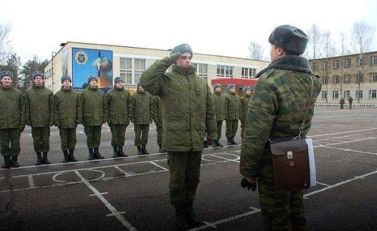 призывники годные к армейской службе